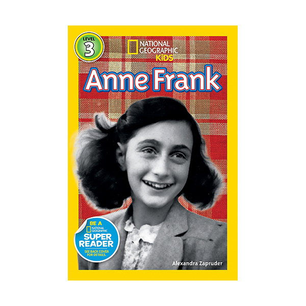 RL 5.0 : National Geographic Kids Readers Level 3 : Anne Frank (Paperback)