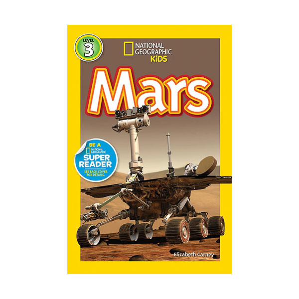 RL 5.0 : National Geographic Kids Readers Level 3 : Mars (Paperback)