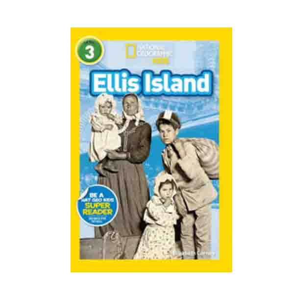 RL 5.1 : National Geographic Kids Readers Level 3 : Ellis Island (Paperback)