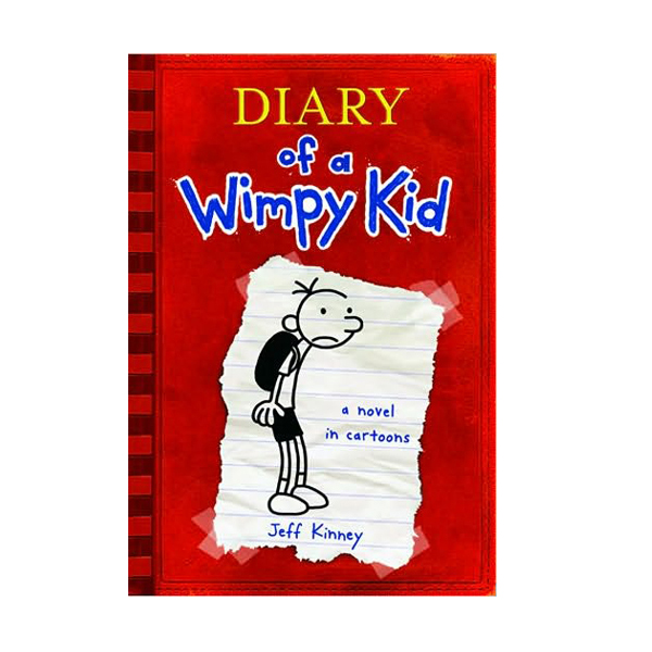 RL 5.2 : Diary of a Wimpy Kid #1 (Paperback)