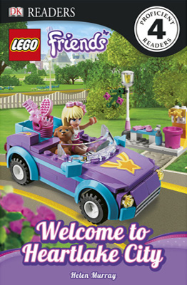 RL 5.3 : DK Readers Level 4: LEGO Friends: Welcome to Heartlake City (Paperback)