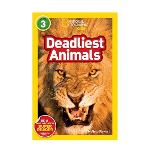 RL 5.3 : National Geographic Kids Readers Level 3 : Deadliest Animals (Paperback)