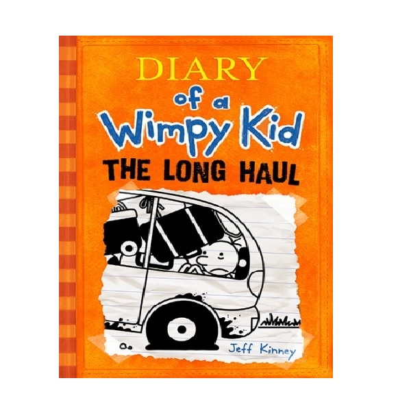 RL 5.4 : Diary of a Wimpy Kid #9 : The Long Haul (Paperback)