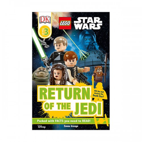 RL 5.4 : DK Readers Level 3 : LEGO Star Wars : Return of the Jedi (Paperback)
