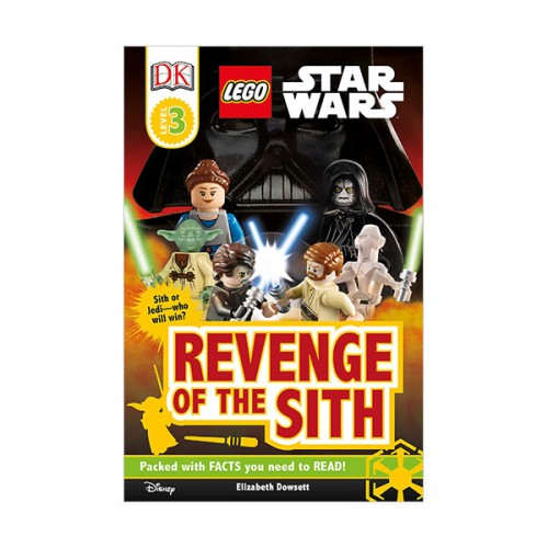 RL 5.4 : DK Readers Level 3 : LEGO Star Wars : Revenge of the Sith (Paperback)