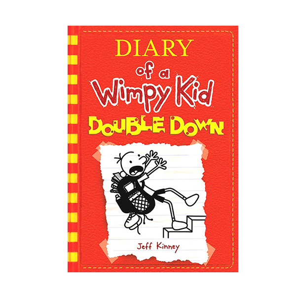 RL 5.5 : Diary of a Wimpy Kid #11 : Double Down (Paperback)