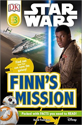 RL 5.6 : DK Readers Level 3 : Star Wars : Finn's Mission (Paperback)