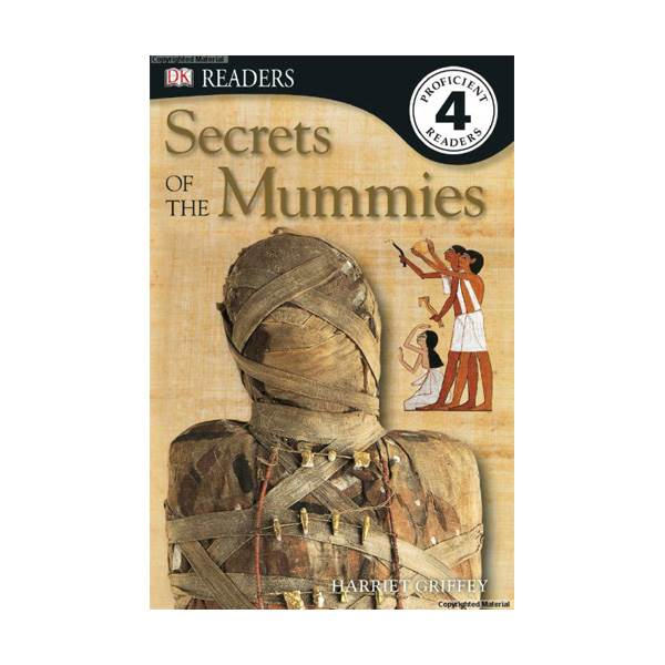 RL 5.6 : DK Readers Level 4 : Secrets of the Mummies (Paperback)