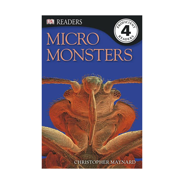 RL 5.7 : DK Readers Level 4: Micro Monsters: Life Under the Microscope (Paperback)