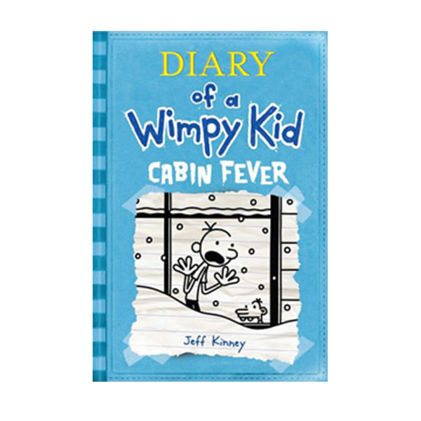 RL 5.8 : Diary of a Wimpy Kid #6: Cabin Fever (Paperback)