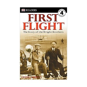 RL 6.0 : DK Readers Level 4 : First Flight: The Wright Brothers (Paperback)