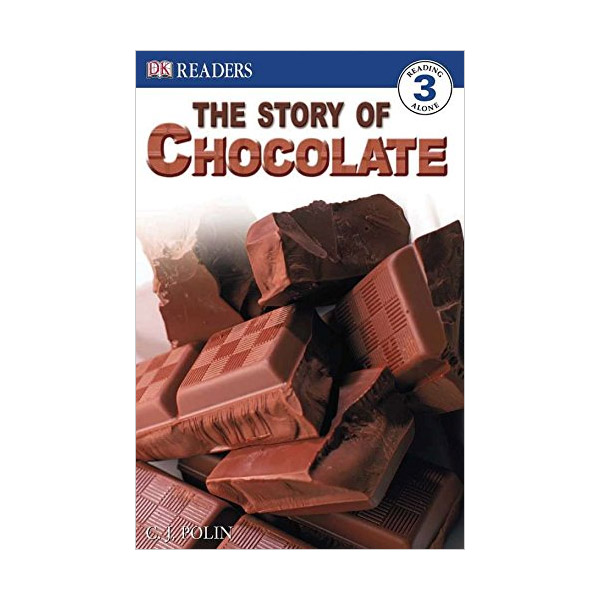 RL 6.5 : DK Readers Level 3: The Story of Chocolate (Paperback)