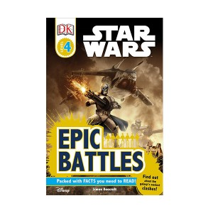 RL 7.0 : DK Readers Level 4 : Star Wars : Epic Battles (Paperback)