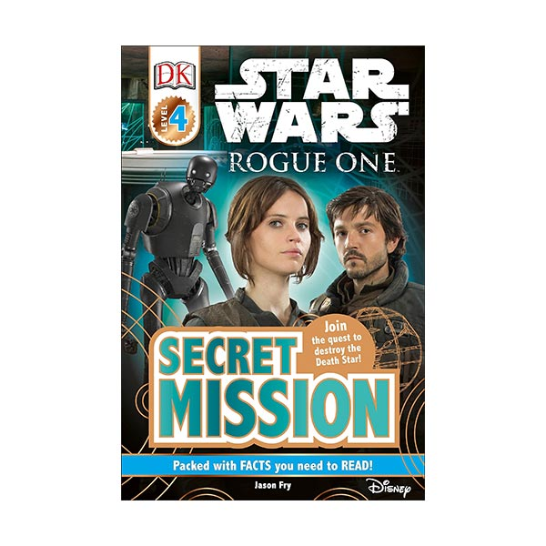RL 7.5 : DK Readers Level 4 : Star Wars : Rogue One : Secret Mission (Paperback)