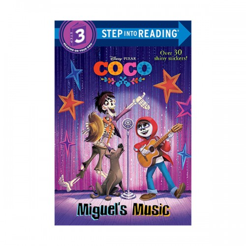 Step into Reading 3 : Coco : Miguel's Music (Paperback)