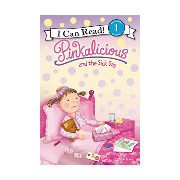 RL1.8 : I Can Read Level 1 : Pinkalicious and the Sick Day (Paperback)