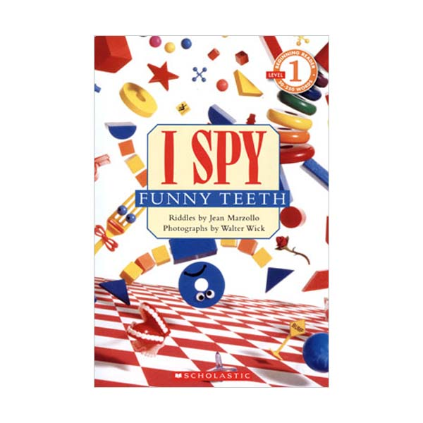 Scholastic Reader Level 1 : I Spy Funny Teeth (Paperback)