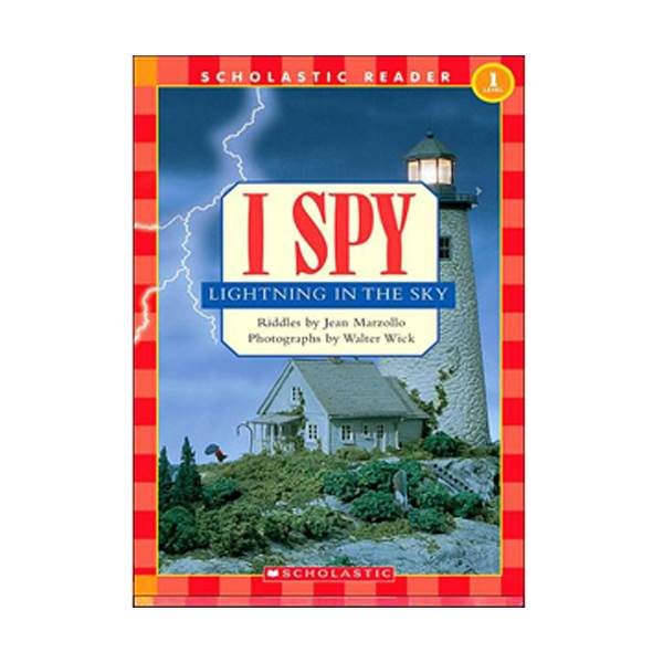 Scholastic Reader Level 1 : I Spy Lightning In The Sky (Paperback)