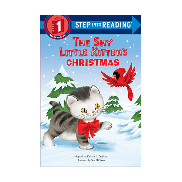 Step into reading 1 : The Shy Little Kitten's Christmas (Paperback)