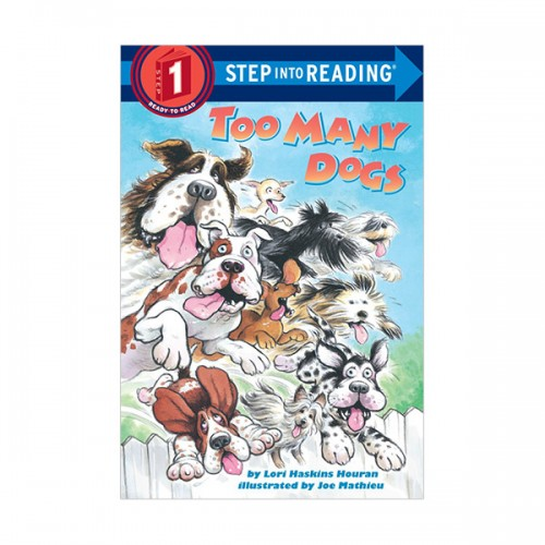 Step Into Reading 1 : Too Many Dogs (Paperback)