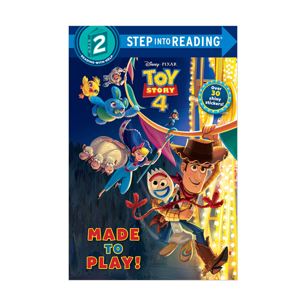 Step into Reading 2 : Disney&Pixar Toy Story 4 : Made to Play! (Paperback)
