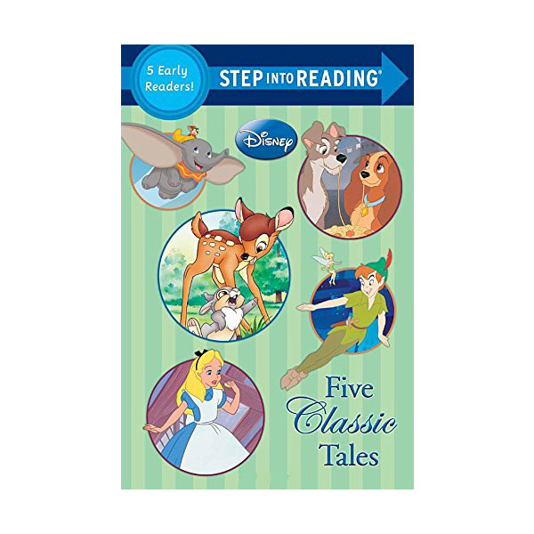 Step into Reading : Disney Classics : Five Classic Tales (Paperback)