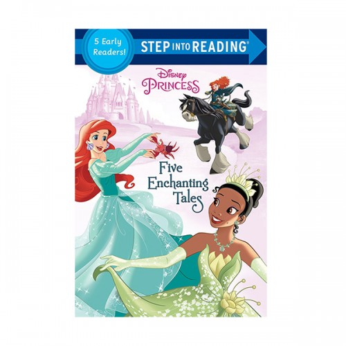 Step into Reading : Disney Princess : Five Enchanting Tales (Paperback)