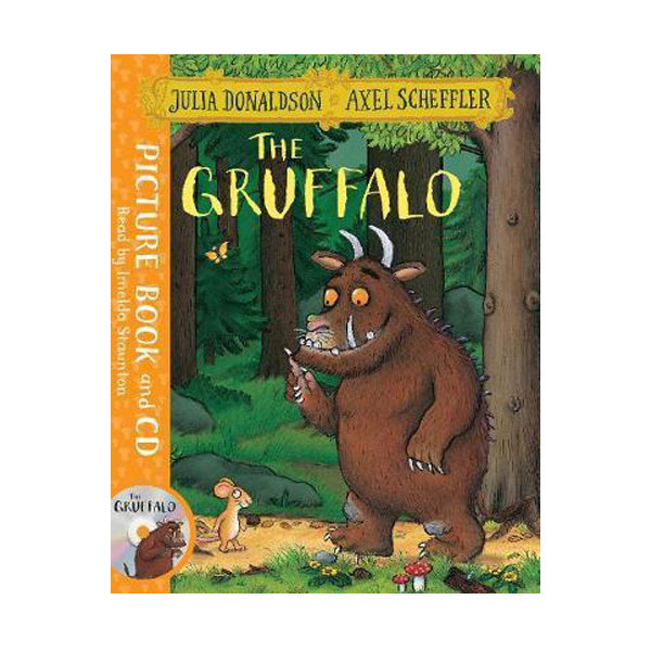 The Gruffalo (Book & CD, 영국판)
