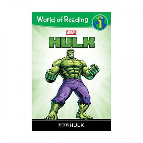 World of Reading Level 1 : Hulk This is Hulk (Paperback)