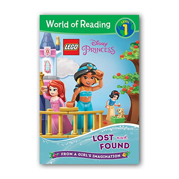 World of Reading Level 1 : LEGO Disney Princess : Lost and Found (Paperback)