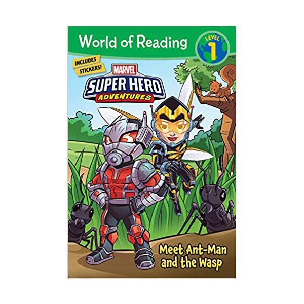 World of Reading Level 1 : Super Hero Adventures: Meet Ant-Man and the Wasp (Paperback)