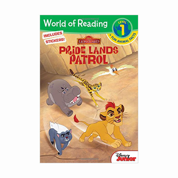 World of Reading Level 1 : The Lion Guard Pride Lands Patrol (Paperback)