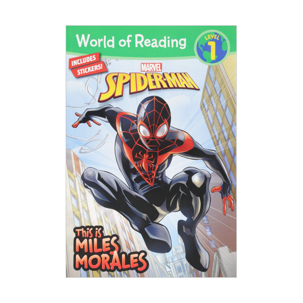 World of Reading Level 1 : This is Miles Morales (Paperback)