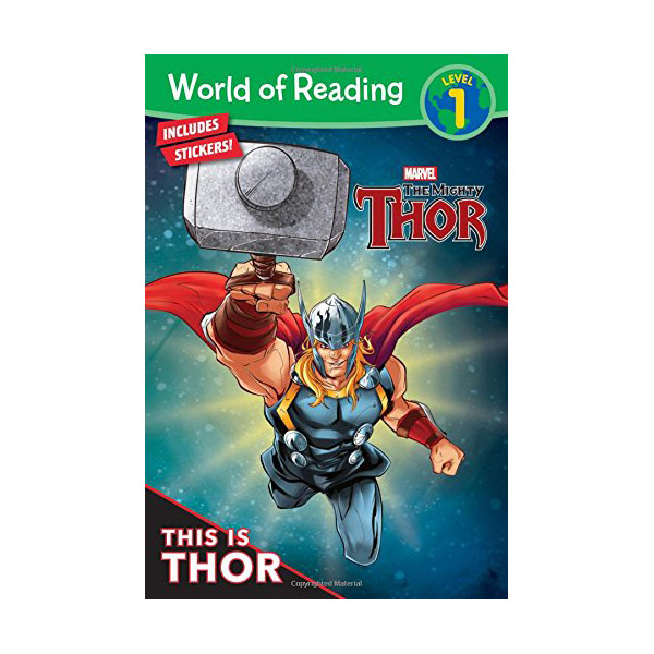 World of Reading Level 1 : Thor This is Thor (Paperback)