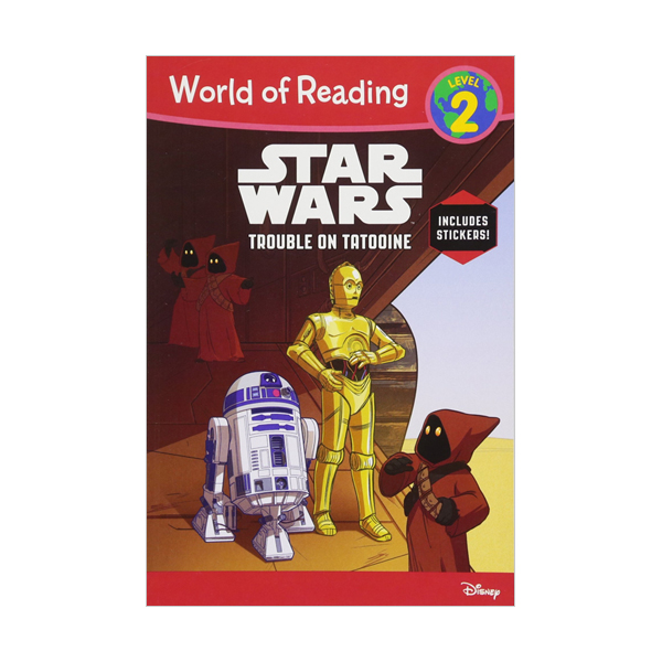 World of Reading Level 2 : Star Wars Trouble on Tatooine (Paperback)
