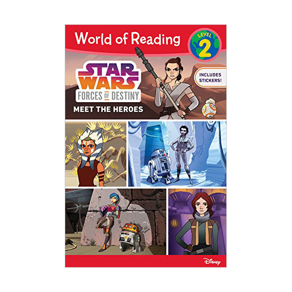 World of Reading Level 2 : Star Wars: Forces of Destiny: Meet the Heroes (Paperback)