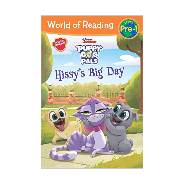 World of Reading Pre-Level 1 : Puppy Dog Pals Hissy's Big Day (Paperback)