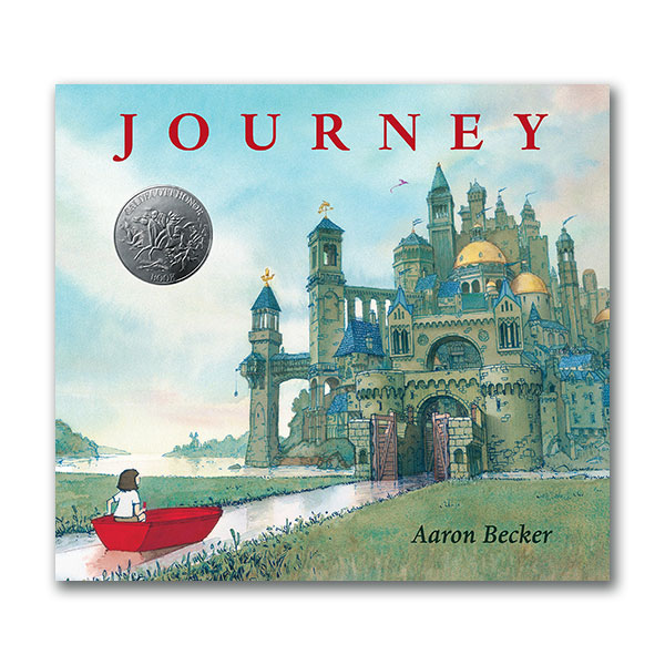 [2014 칼데콧] Aaron Becker's Wordless Trilogy : Journey (Hardcover, Caldecott)