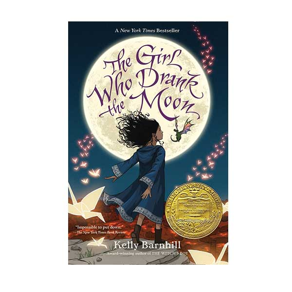 [2017 뉴베리] RL 4.8 : The Girl Who Drank the Moon (Paperback, Newbery)