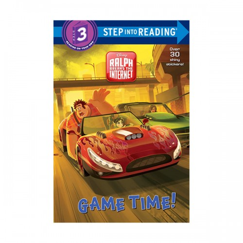 [주먹왕랄프] Step into Reading 3 : Disney Wreck-It Ralph 2 : Game Time! (Paperback)