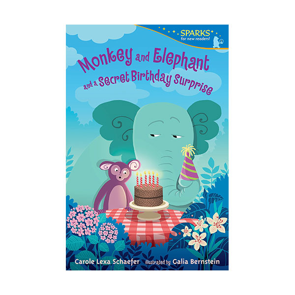 RL 2.4 : Candlewick Sparks : Monkey and Elephant and a Secret Birthday Surprise (Paperback)