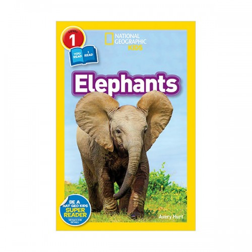 National Geographic Kids Readers Level 1 : Elephants (Paperback)