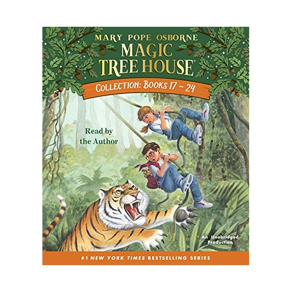 Magic Tree House Collection CD #3 : Books 17-24 (Audio CD)
