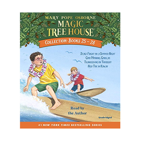 Magic Tree House Collection CD #4 : Books 25-28 (Audio CD)