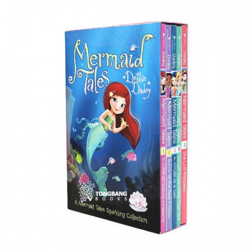 A Mermaid Tales Sparkling Collection #1-5 (Paperback) (CD미포함)