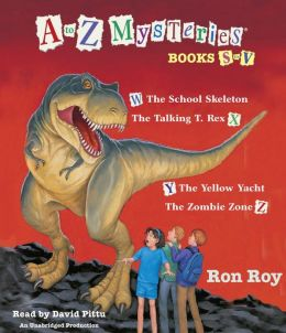 A to Z Mysteries : Books S-V (Audio CD, Unabridged Edition)(도서미포함)