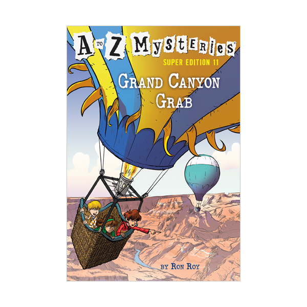 A to Z Mysteries Super Edition #11 : Grand Canyon Grab (Paperback)