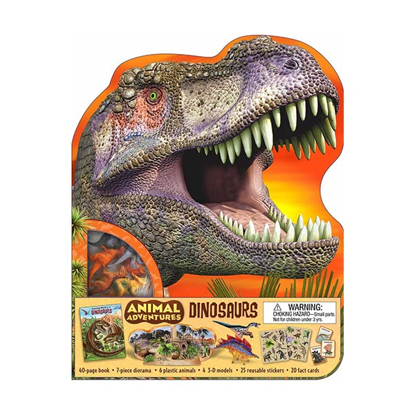 Animal Adventures : Dinosaurs (Activity Book)