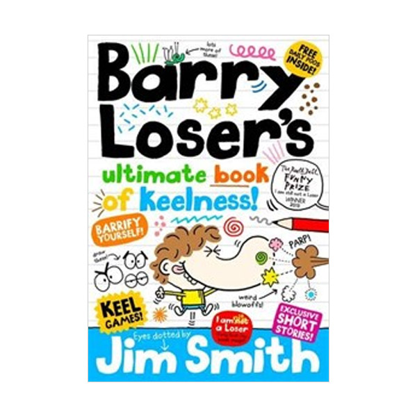 Barry Loser : Barry Loser's Ultimate Book of Keelness (Hardcover, 영국판)