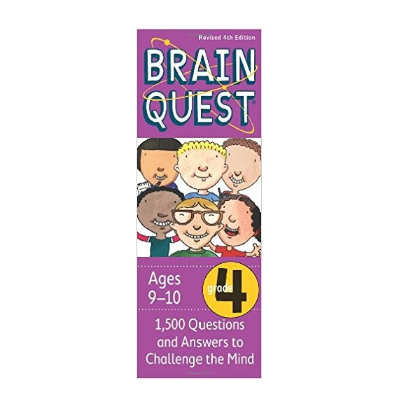 Brain Quest : Grade 4 (9-10Ages) : 1500 Questions and Answers to Challenge the Mind (Revised 4th Edition)